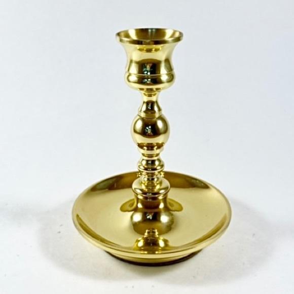 Vintage Baldwin brass candlestick holder